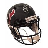 Andre Johnson Autographed Houston Texans Signed Football Full Size Speed Helmet JSA COA