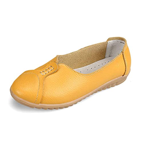 Mocasines Planos Casuales De Mujer Mocasines ResbalóN En Boca Baja Pisos Cerdo Gamuza Costura SeñOras De ImpresióN Mocasines: Amazon.es: Zapatos y ...