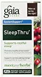 Gaia Herbs - SleepThru 60c (Pack of 3)