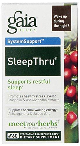 Gaia Herbs – SleepThru 60c (Pack of 3)