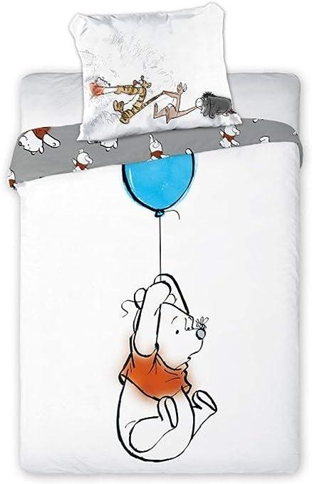 Disney Winnie The Pooh - Ropa de cama para bebé (100 x 135 cm ...