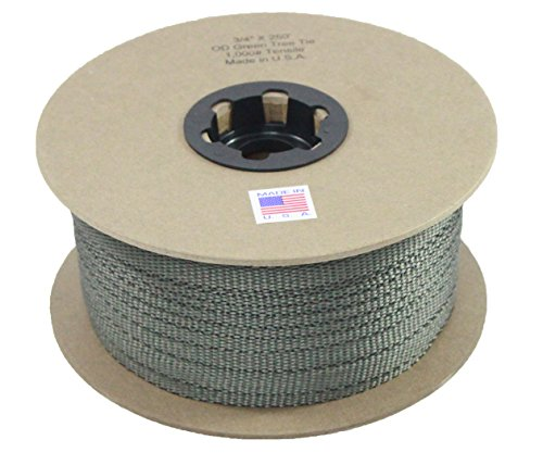 Tree Tie - 3/4 Inch - 1,000 lb. - Guying and Staking - Made in USA (250 - Tree Tie
