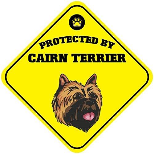 Cartel de aluminio para perro WenNuNa protegido por Cairn ...