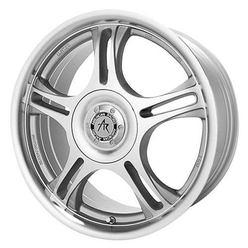 (American Racing Estrella AR95 Machined Finish Wheel with Clear Coat (16x7