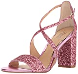 Jewel Badgley Mischka Women's Cook Dress Sandal, Hot Pink, 7.5 M US