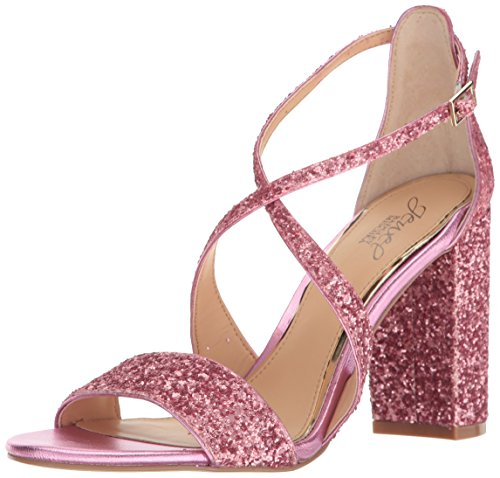 Mischka Badgley Jewel Pink Hot Sandal Cook Women's Dress gdRTBqdn