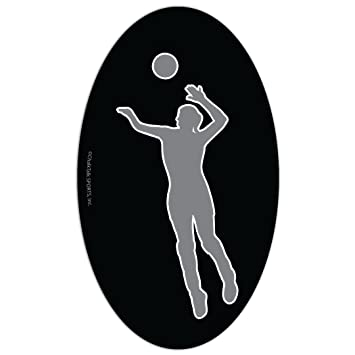 Spike Volleyball Car Magnet By Chalktalk Sports
