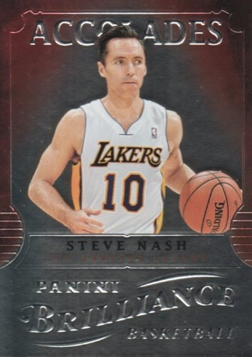 (2012-13 Panini Brilliance Accolades #9 Steve Nash Basketball Card)