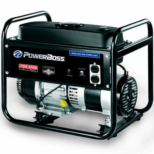 Portable Generator, 1700 Watts by PowerBoss