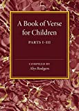 A Book of Verse for Children, Rodgers, Alys, 1107487242