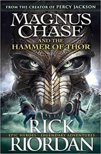 Image result for magnus chase and the hammer of thor book cover