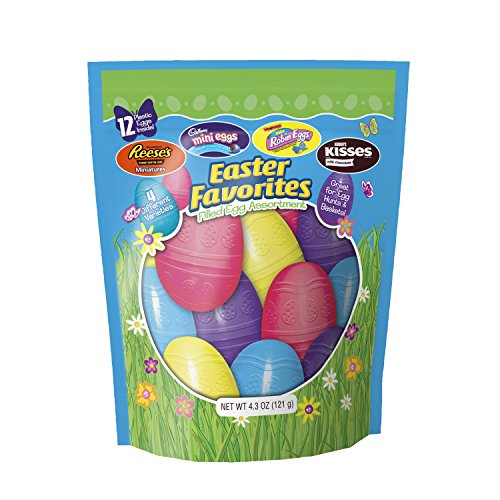 Hershey's Chocolate Filled Plastic Easter Egg Assortment, 4.