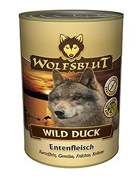 Wolf sangre Wild Duck, 6 pack (6 x 395 g): Amazon.es: Productos para mascotas