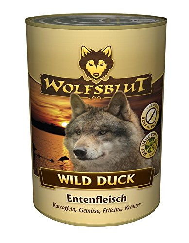 Wolf sangre Wild Duck, 6 pack (6 x 395 g): Amazon.es: Productos para ...