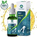 Hemp Oil For Dogs And Cats 1250 Mg Pure Dog Cat Hemp Oil Calming Treats Pets Anxiety Tension Hip Seizures Joint Pain Relief Arthritis Sleep Omega Supplement Pet Vitamins
