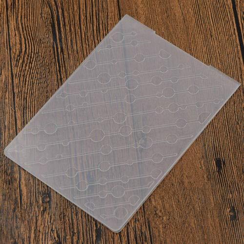 FidgetKute DIY Embossing Folder Scrapbooking Template Paper Card Album Decor Making Tool #MS391 Flower