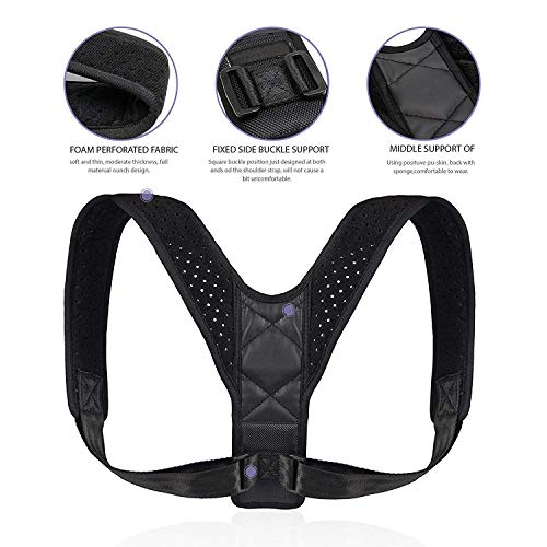 Back Posture Corrector for Women adjustable&comfortable&effective Shoulder Brace Support
