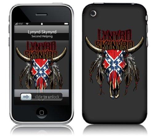 MusicSkins, MS-LS20001, Lynyrd Skynyrd - Bull, iPhone 2G/3G/3GS, (Lynyrd Skynyrd Bull Skin)