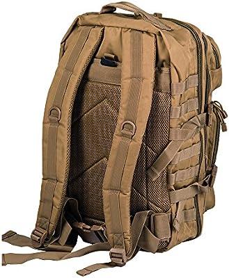 Pack de asalto MOLLE táctico con mochila de patrulla 36L, Coyote: Amazon.es: Deportes y aire libre