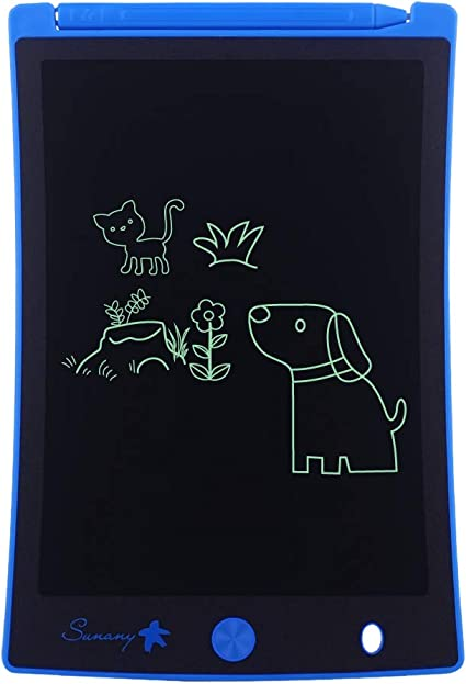 Color : Picture Color, Size : 10 inches Sunsamy LCD Writing Tablet 3 Pcs LCD Handwriting Board Childrens LCD Drawing Board Painting Graffiti Magnetic Writing Board Office Writing Board
