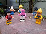 NW Lot of 6 sets Dragonball Z Minifigures building Toys Son Goku blocks Gift GT(Without Original Box)