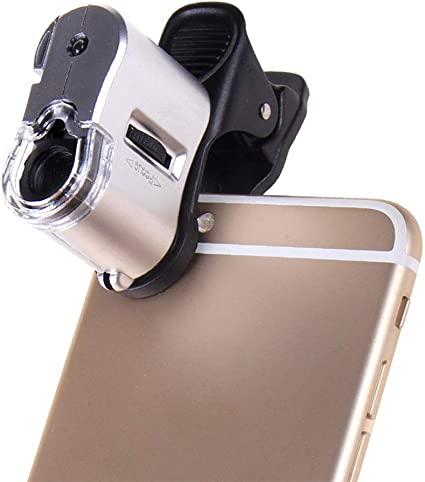Microscopio Portátil De Bolsillo 60 X Inspección Joyería Mini ...