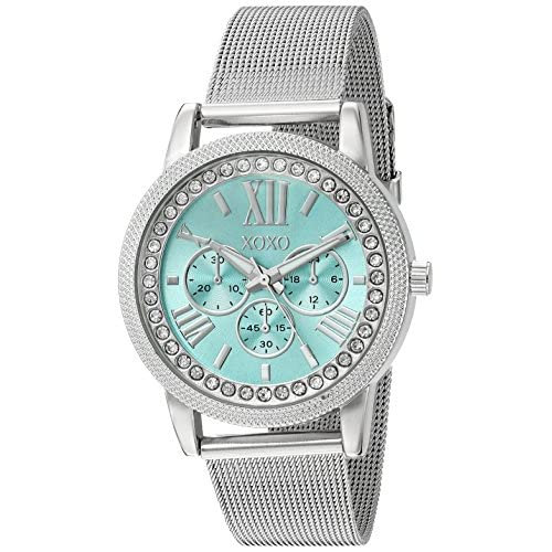 XOXO Women's Stainless Steel Analog-Quartz Watch with...