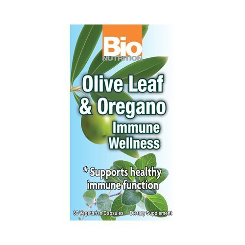 Bio Nutrition Immune Wellness - Olive Leaf and Oregano - 60 Vcaps -pack of 1 by Bio Nutrition