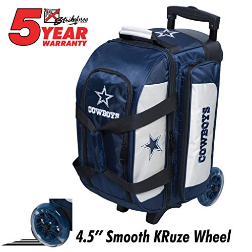 KR Strikeforce Bowling Bags Dallas Cowboys 2 Ball Roller for sale  Delivered anywhere in USA