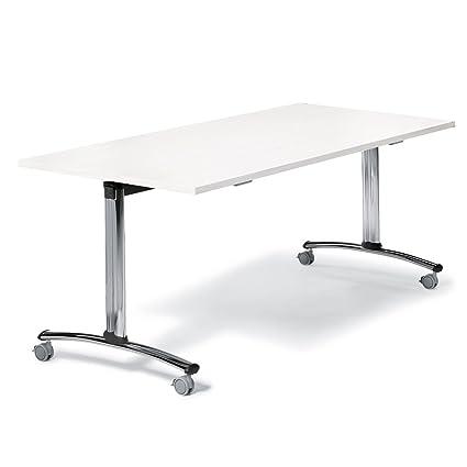 Mesa plegable Módulo con ruedas: Amazon.es: Oficina y papelería