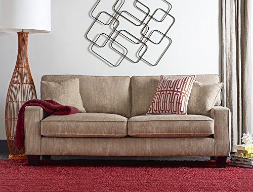 Serta Deep Seating Palisades 73″ Sofa in Essex Beige