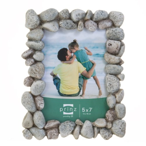 Prinz Beach Rocks Resin Frame, 5 by - Stone Frame