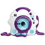 Kids Karaoke Machine - CD & MP3 Player Sing-A-Long Music Player