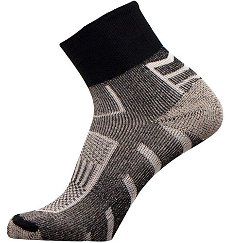 Copper Running Sport Socks - Perfect for Cycling, Jogging, Tennis, Walking (M)