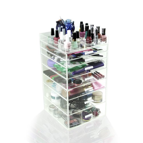 Houseables Acrylic Organizer Cosmetic Dividers