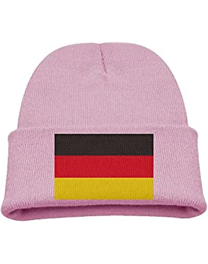 Germany Flag Kid's Hats Winter Funny Soft Knit Beanie Cap, Unisex