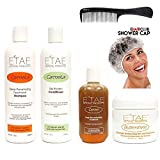 Etae Carmelux Shampoo Conditioner E'tae Carmel Treatment Buttershine Natural Products Ultimate Bundle Combo Kit