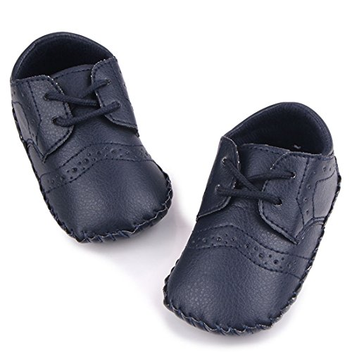 Pictures of MiYuebb Infant/Toddler Handmade Oxford Shoes Hard 3