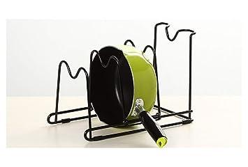 ZHESHEN Organizador De Sartenes Accesorios Para Muebles De Cocina Estanterías Para Cocina Para Organizar Sartenes Y