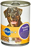 Pedigree + Healthy Joints Ground Entree Food for Dogs, 13.2-Ounce Cans (Pack of 12), My Pet Supplies
