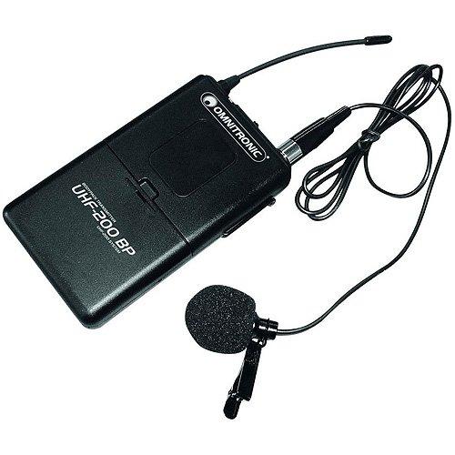 Omnitronic 13063218 UHF-200 BP drahtlose Mikrofon (863, 42MHz) UHF-200 BP 863.42MHz