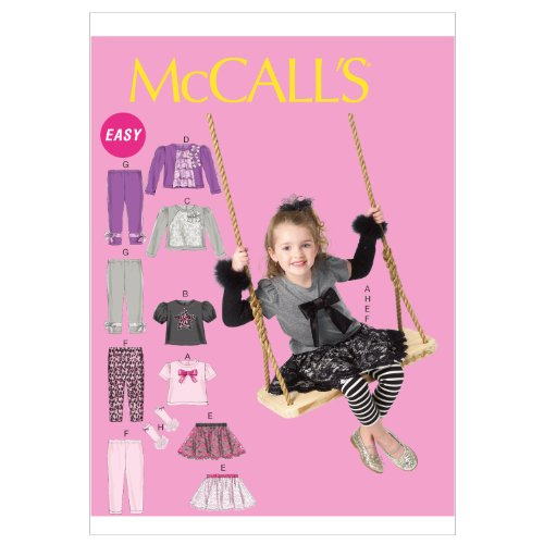 McCall Patterns M6593CCE Toddlers Childrens