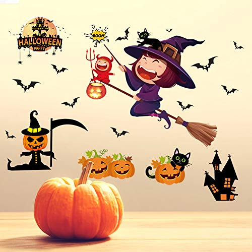 Wall Stickersnew Foreign Trade Halloween Wall Paste Shopping Mall Whole Maggot Decoration Bar Window for $<!--$25.94-->