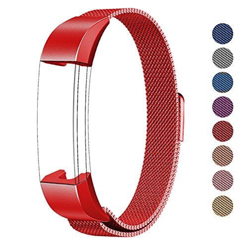 Watch Wrist Strap for Fitbit Alta (Red) - 9
