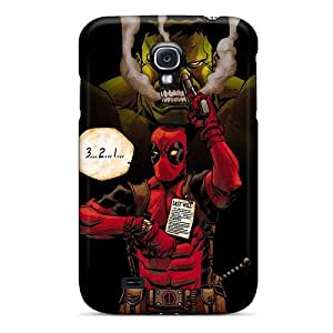 Samsung Galaxy S4 Ask20806HnTr Support Personal Customs Nice Hulk And Deadpool Series Durable Cell-phone Hard Cover -RobAmarook