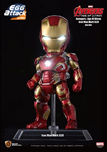 Beast Kingdom Egg Attack Action Iron Man Mark 43 Avengers Age of Ultron Action Figure (Floating Spiderman)