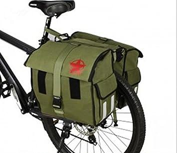 Bolsas de bicicleta impermeable bolsa de lona accesorio de ...