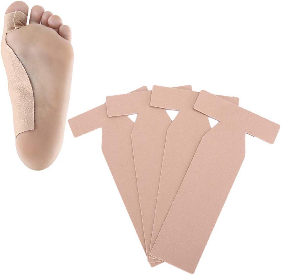 Brackets Hallux Valgus, Brackets autoadhesivos Hallux Valgus Toe Corrección ortopédica Corrector de juanetes Alivio del dolor Cuidado de los pies Calcetines de pedicura