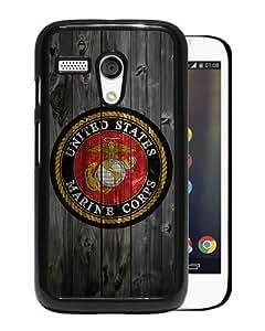 Moto G Case,United States Marines LOGO Motorola Moto G cell phone case