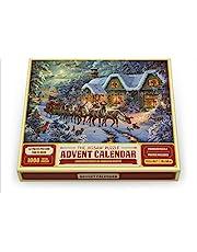 The Jigsaw Puzzle Advent Calendar - Christmas Magic by Abraham Hunter